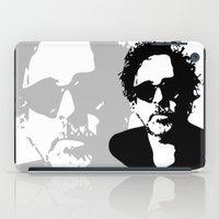 tim burton iPad Cases featuring Tim by b & c