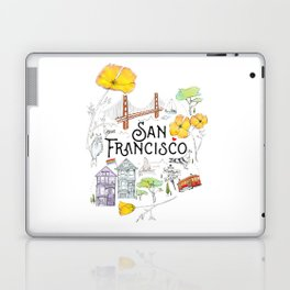 San Francisco Laptop & iPad Skin