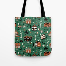 Salem Witches Tote Bag