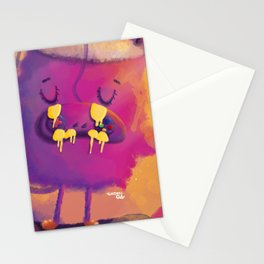 Monster game over Stationery Cards