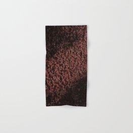Autumn's red hedge Hand & Bath Towel