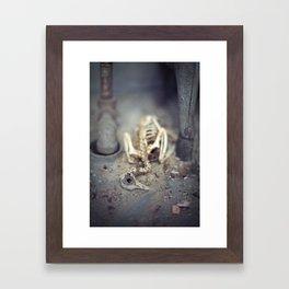 A Shell of my Former Self Framed Art Print