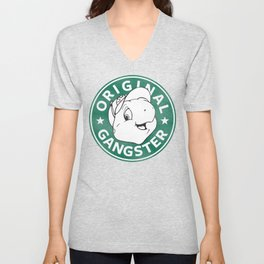 Franklin The Turtle - Starbucks Design Unisex V-Neck