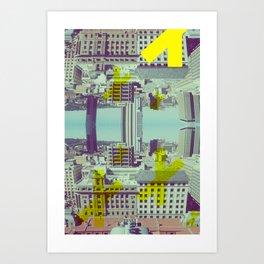 Shredscape Art Print