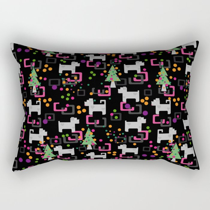New year . The year of the dog . Rectangular Pillow