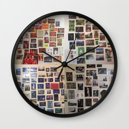Postcard Wall Spaced Wall Clock