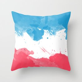 Love of France Throw Pillow