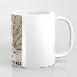 Fight For Science Coffee Mug