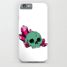 Skull Crystals  iPhone Case
