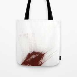 """Your Lips Are Red; Your Skin is Fair"" Tote Bag"