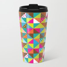 Crazy Squares Metal Travel Mug