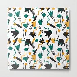flowers Duck legs line Metal Print