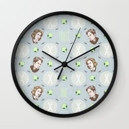 The X Files Repeating Wall Clock