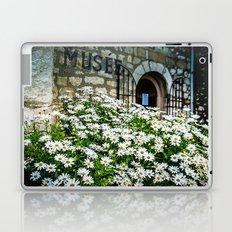 Museum & wild flowers - France Laptop & iPad Skin