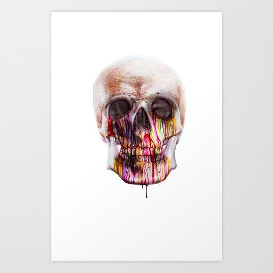 True Blood B Art Print