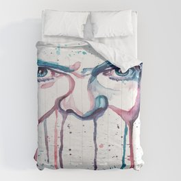 Bowie Watercolor  Comforters