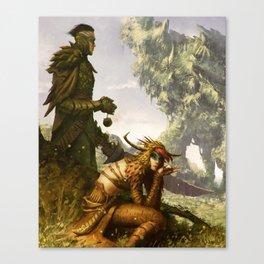 Scavenger Heroes series - 11 Canvas Print