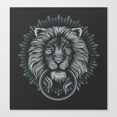 Stone Lion Canvas Print