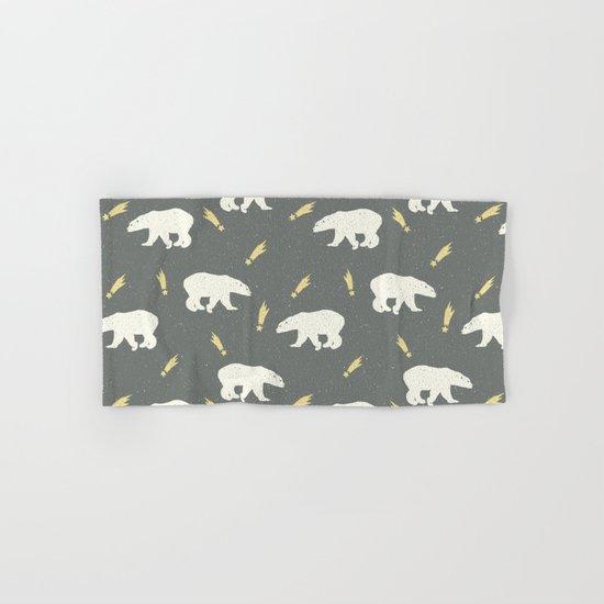 Merry Christmas- Animal Polar bear - pattern Hand & Bath Towel