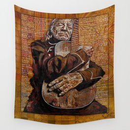 Willie's Guitar Wall Tapestry