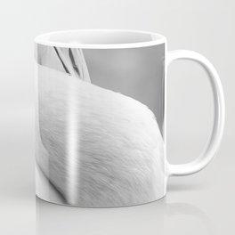 Mad Flamingo (Black and White) Coffee Mug
