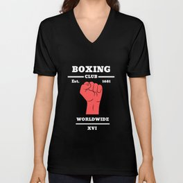 Boxing Unisex V-Neck