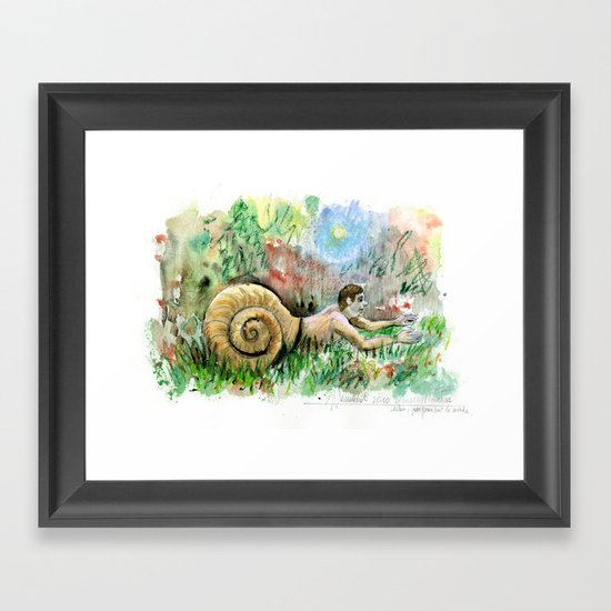 Human condition Framed Art Print