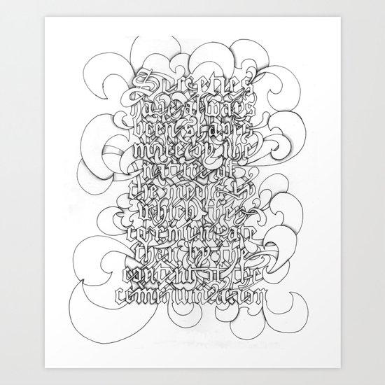 McLuhan Art Print