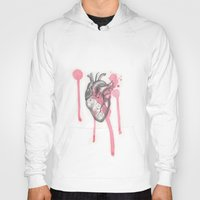 battlefield Hoodies featuring My Heart is like a Battlefield by ArtLm