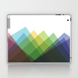 Fig. 002 Colorful Mountains Laptop & iPad Skin