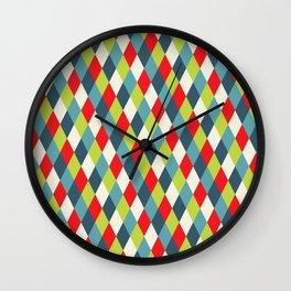vintage  rhomb  Wall Clock
