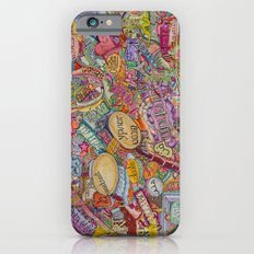 ART in many languages Slim Case iPhone 6s