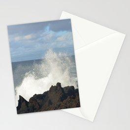 Sea Spray On A Lava Shoreline Stationery Cards