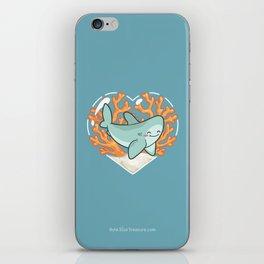 BYTE the Great White Shark iPhone Skin