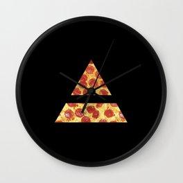 A Million Little Pizzas Ver. 2 Wall Clock