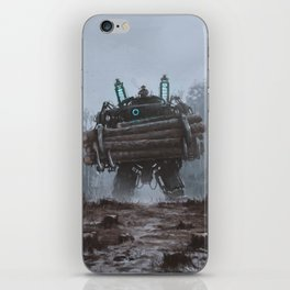 1920 - the destroyer of nature iPhone Skin