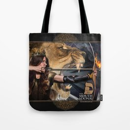 PEY 5780 - THE MOUTH OF ADONAI Tote Bag