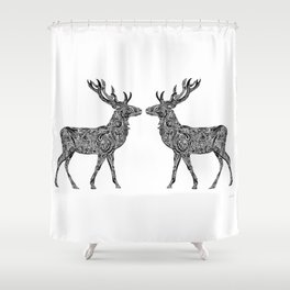 Deer Shower Curtain