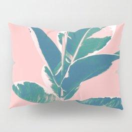 Ficus Elastica Finesse #3 #tropical #foliage #decor #art #society6 Pillow Sham