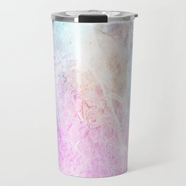 Violet Abstract Travel Mug