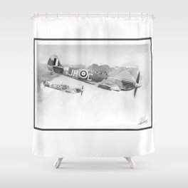 spitfires Shower Curtain