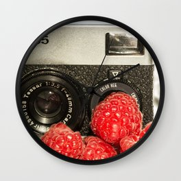Raspberry Rollei Wall Clock