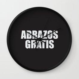 Abrazos Gratis Wall Clock