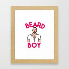 Beard Boy: Graeme Framed Art Print