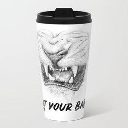 NOT Your Baby Metal Travel Mug