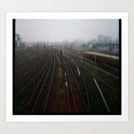 Warschauerstr.Berlin Art Print