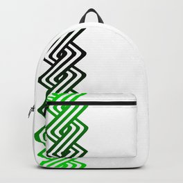 Guilloche Design Backpack