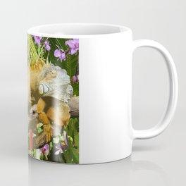 Rainforest Iguana Coffee Mug