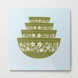 Spring Blossom Pyrex Metal Print