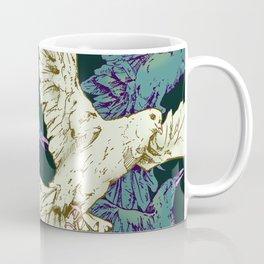 Dove and Crows Coffee Mug